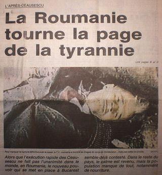 Ceaucescu-execute