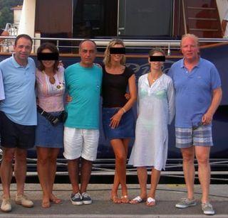 Cope hortefeux Ziad Takieddine vacances yacht karachi