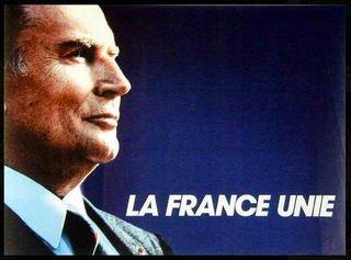 Mitterrand france unie
