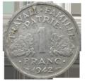 1_franc_état_français_revers